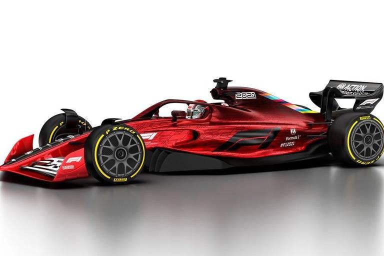 Novos carros de F-1 para a temporada 2021