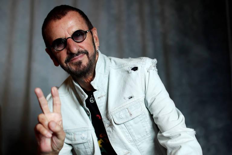 O músico Ringo Starr