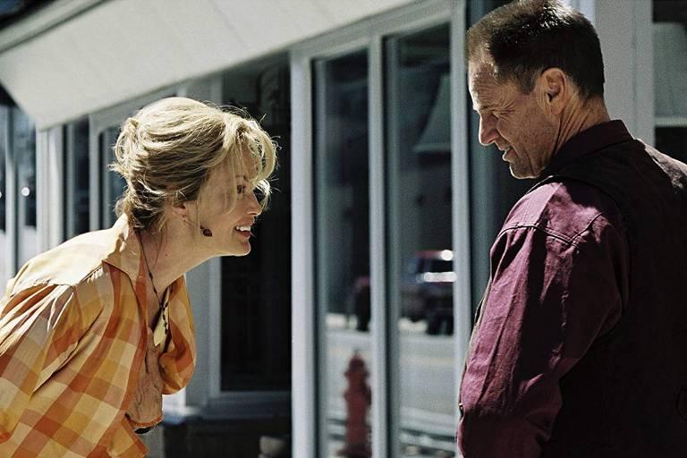 """Jessica Lange e Sam Shepard em """"Estrela Solitária"""" (Don't Come Knocking), de 2005"""