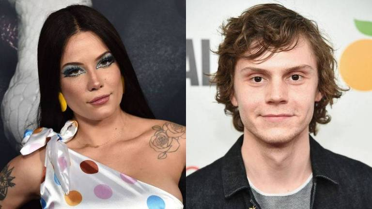 Halsey confirma namoro com Evan Peters