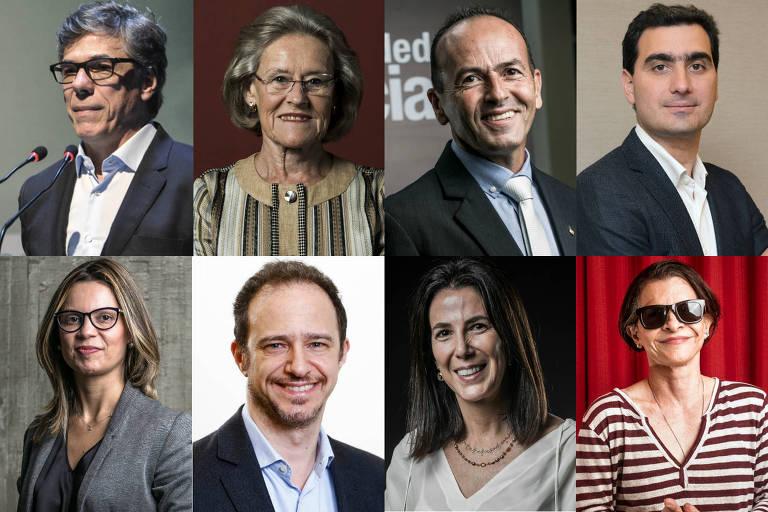 Fotomontagem do júri do Prêmio Empreendedor Social 2019