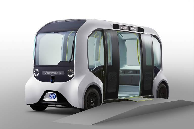 Tóquio usa Olimpíada para testar primeiro micro-ônibus autônomo