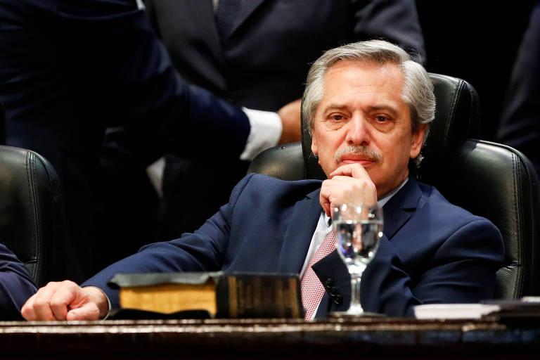 Diferentemente de Bolsonaro, Trump parabeniza Alberto Fernández