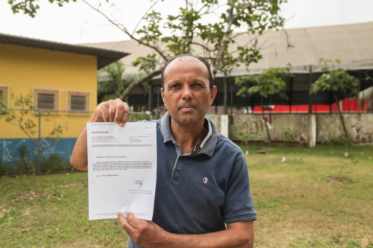 Vanderlei Marcos Barbosa conta que está sem o salário da empresa onde trabalha e não consegue a indenização do INSS; o segurado tem nova perícia agendada para o próximo dia 17 de novembro