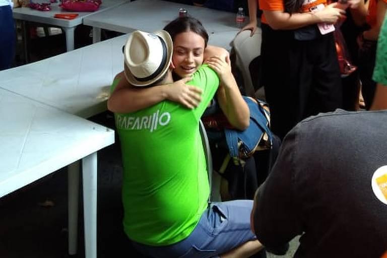 Candidata grávida se atrasa e fica do lado de fora em local de prova do Enem em São Paulo