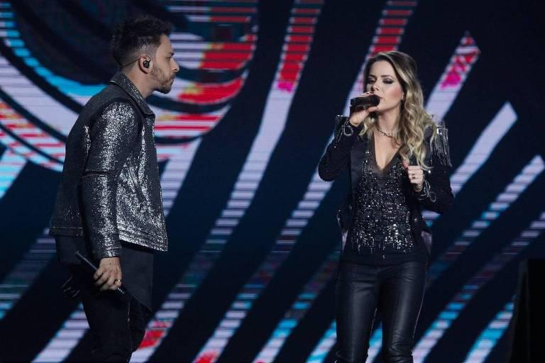"""Show """"Nossa História"""" Sandy & Júnior no Juenensse Arena, Barra da Tijuca"""