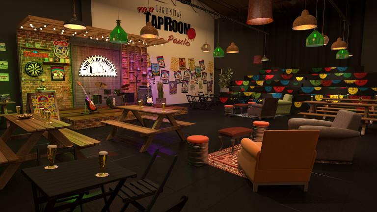 Tap Room da Lagunitas