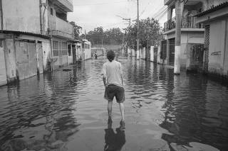 Enchentes na Vila Maria Augusta