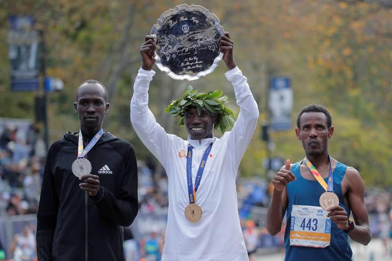 Quem é o etíope que, sem patrocínio, ficou em 3° na Maratona de NY
