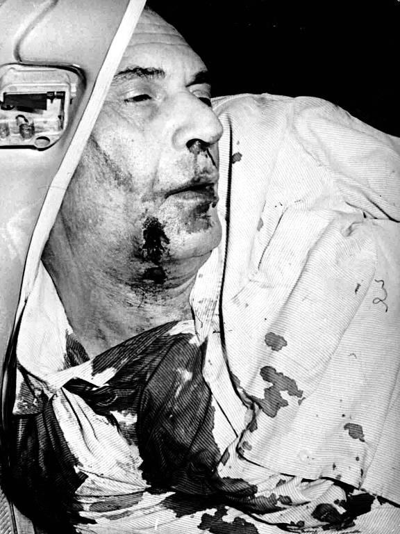 O baiano Carlos Marighella morto pela Oban, em 1969.