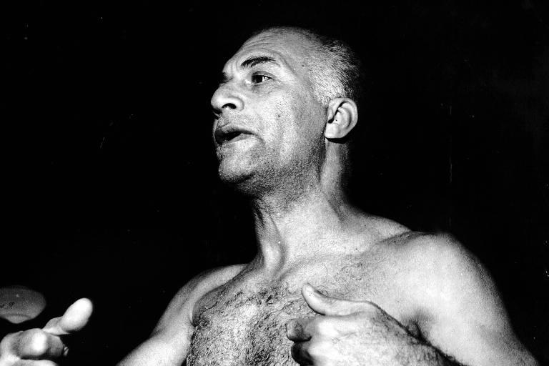 O baiano  Carlos Marighella, líder da ALN, em 1968.