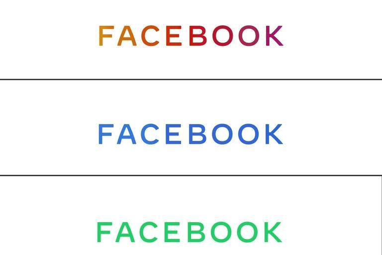 Novo logo do grupo Facebook; empresa quer separar imagem da companhia e da rede social