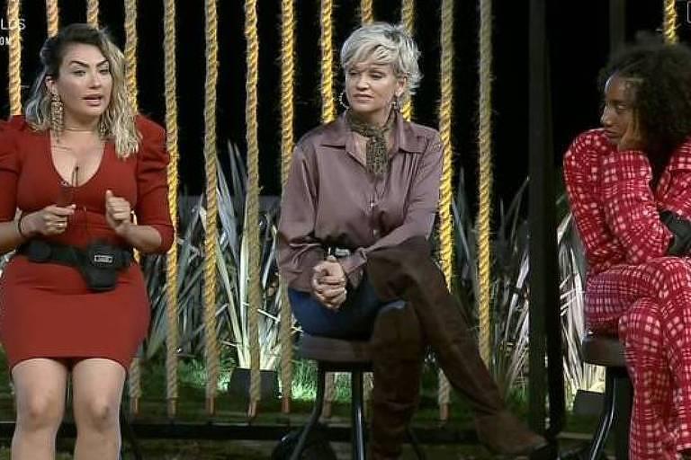Thayse, Andréa Nóbrega e Sabrina são indicadas para a roça em A Fazenda 11