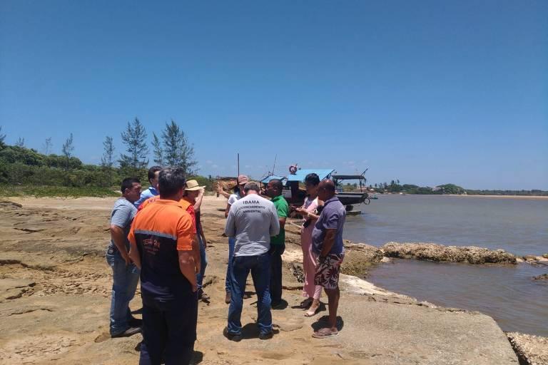Ibama monitora estuários no Espírito Santo