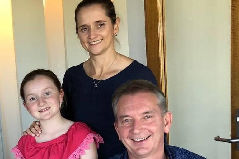 Gary e Tamra têm uma filha, Charlotte, de 11 anos
