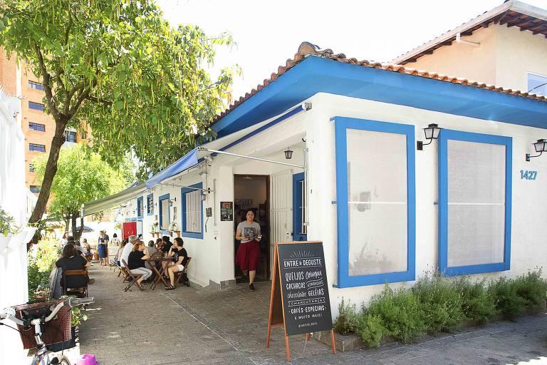 Fachada do restaurante Mateba, na Vila Madalena