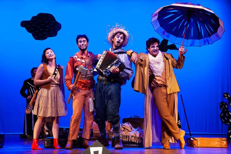 Musical infantil 'O Mágico di Ó' estreia em SP