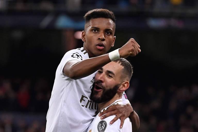 Rodrygo faz três gols e obtém marca histórica na Champions League