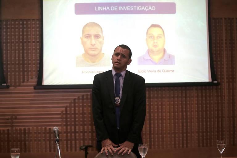 O delegado Giniton Lages, responsável pela apuração do caso Marielle até março deste ano