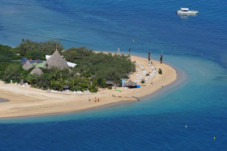 Ilha dos Patos, localizada em Nouméa, capital da Nova Caledônia