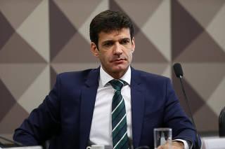 Marcelo Álvaro Antônio em sessão da Comissão de Fiscalização e Controle do Senado