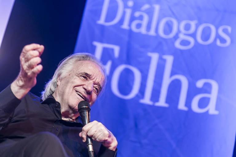Mônica Bergamo entrevista maestro João Carlos Martins