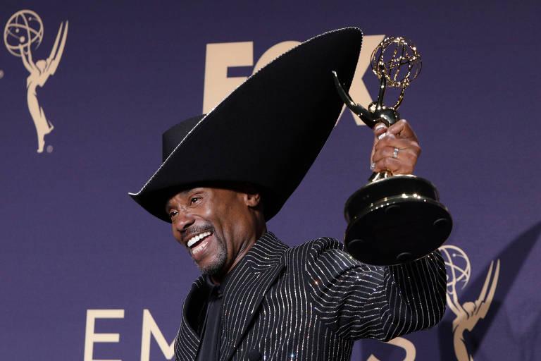 """Billy Porter recebe prêmio de melhor ator por """"Pose"""""""