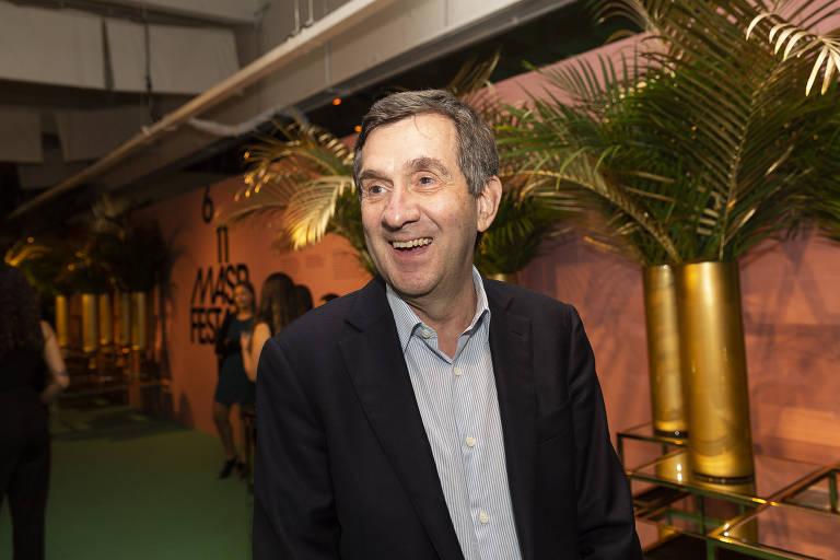 Alfredo Setubal, em festa beneficente no Masp