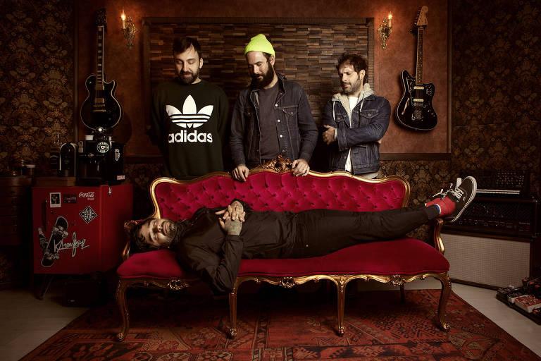 A banda Fresno, que lança seu novo disco