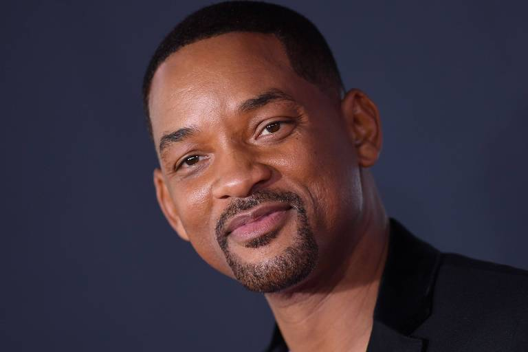 Will Smith no red carpet