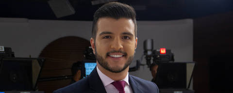 O jornalista Matheus Ribeiro, 26