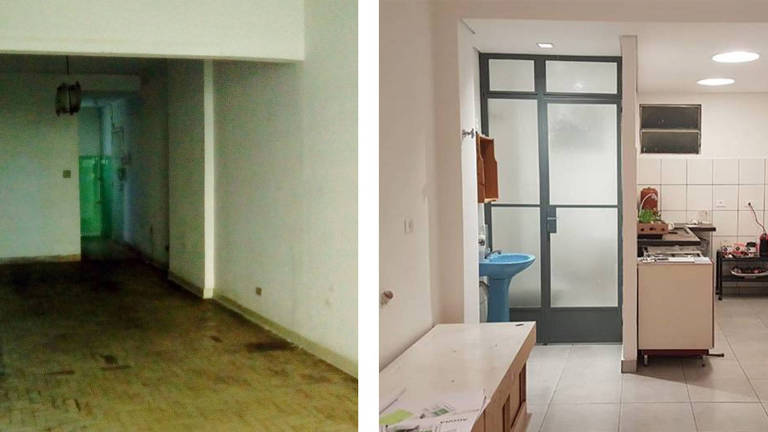 Movimento 'Fica', em SP, compra e reforma apartamento no centro de SP; após obra, imóvel é alugado para famílias de baixa renda