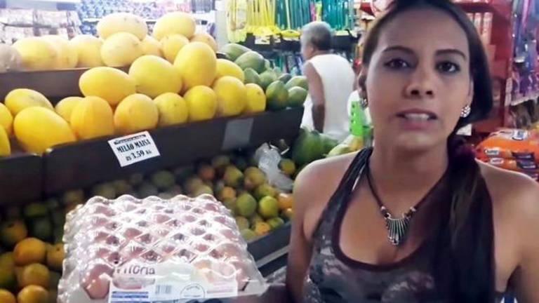 Victoria mostra nos vídeos como é o dia a dia no Brasil