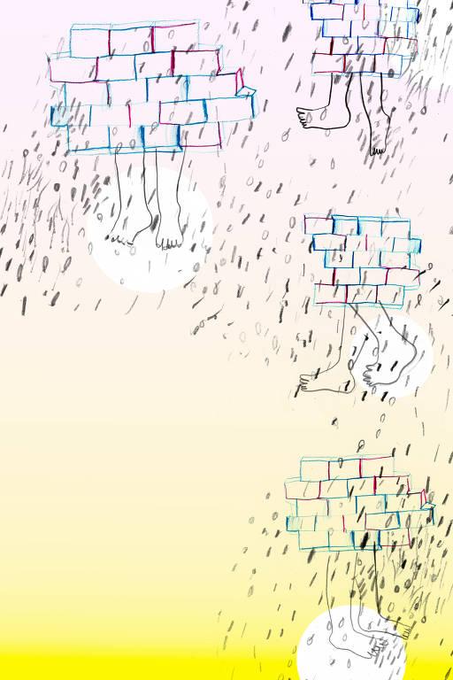 Ilustração de Vânia Medeiros para a seção Imaginação, da Ilustríssima
