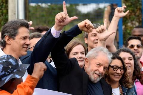 Lula pede juízo ao Congresso em discussão sobre volta da prisão após 2ª instância
