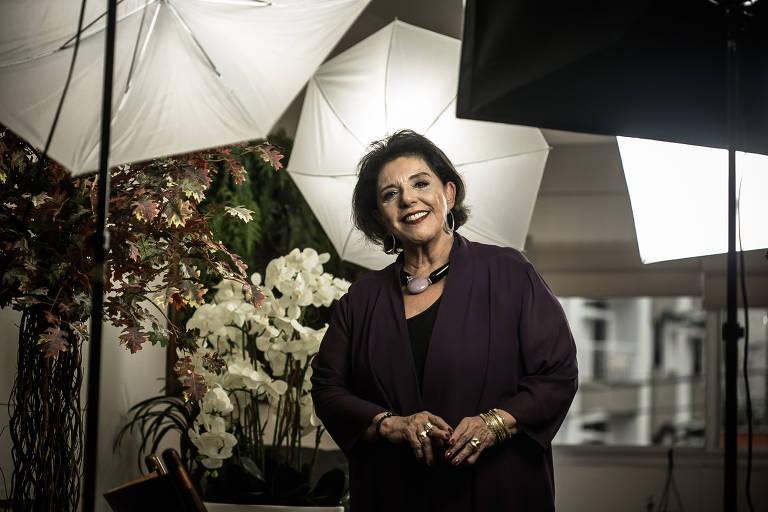 Retratos da jornalista Leda Nagle