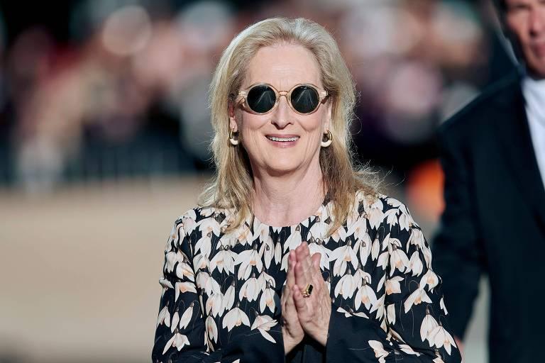 A atriz Meryl Streep
