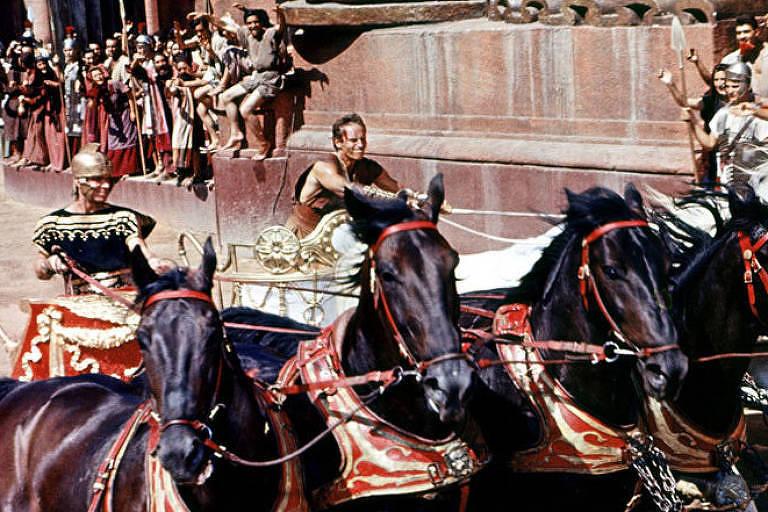 """Cena do filme """"Ben Hur"""", de 1959"""