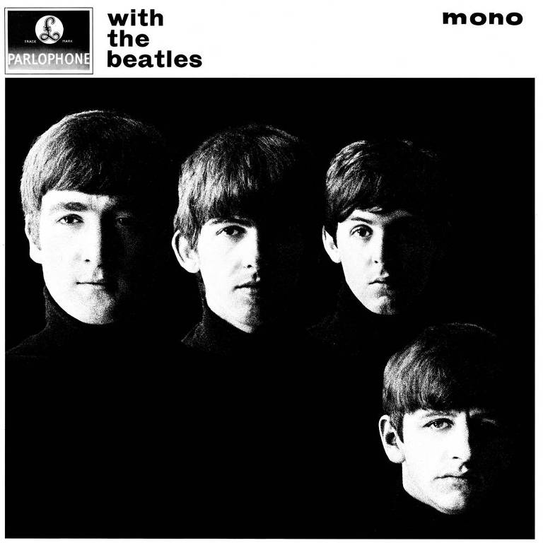 "Capa do álbum ""With the Beatles"""