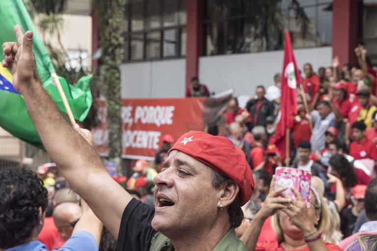 Recepção de Lula em São Bernardo do Campo