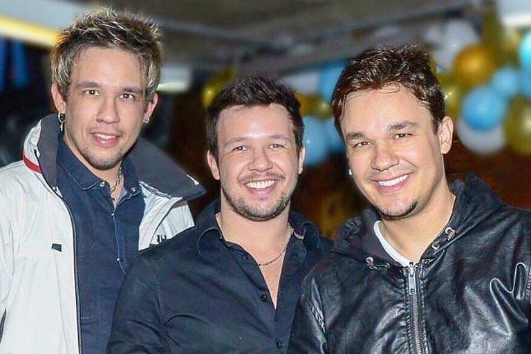 Kiko, Leandro e Bruno, do KLB