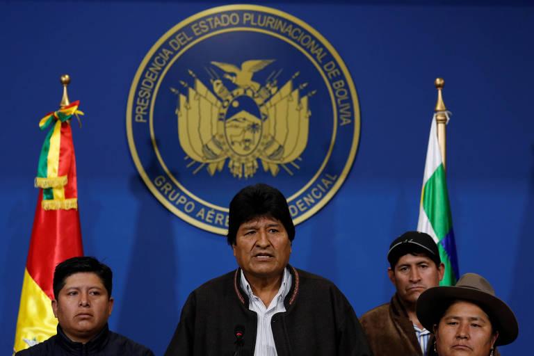 Evo Morales convoca novas eleições após protestos