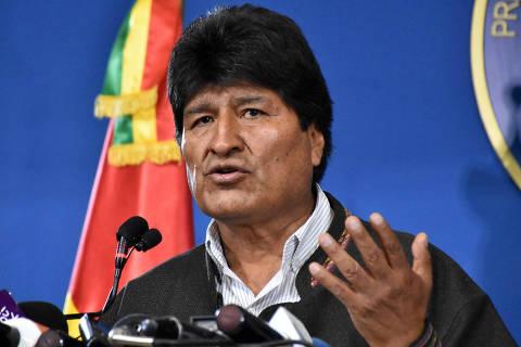 Evo anuncia que deixará a Bolívia rumo ao México