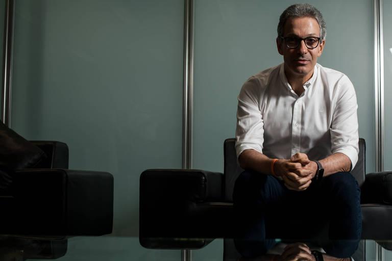 O governador de Minas Gerais, Romeu Zema, em entrevista à Folha.