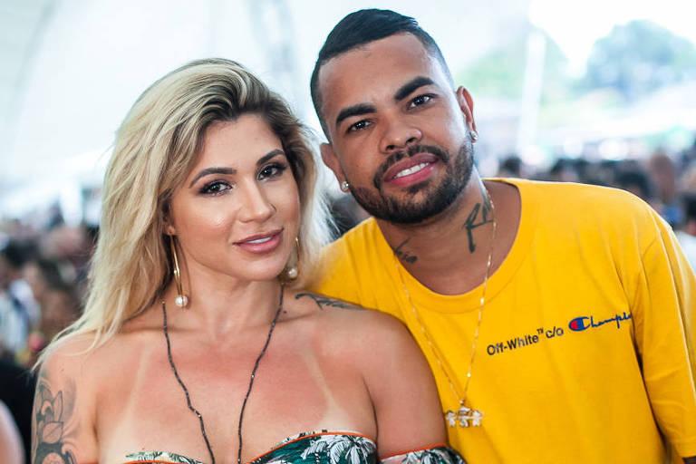 Dani Souza e Dentinho