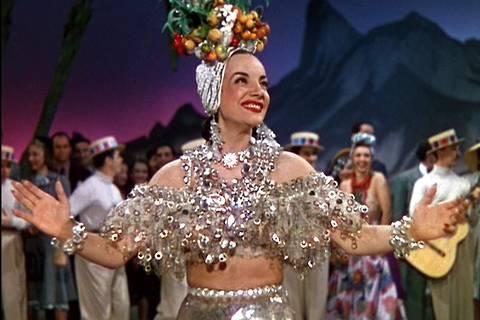 Carmen Miranda no filme