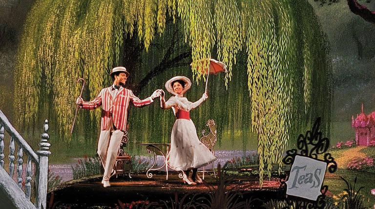 "Cena do filme ""Mary Poppins"""