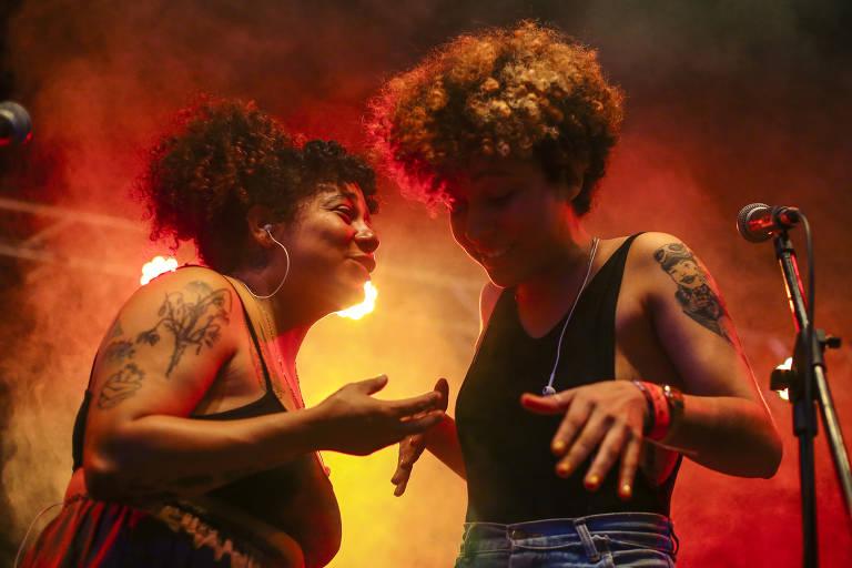 Show da banda paranaense Tuyo no festival Radioca 2019, na Chácara Baluarte, em Salvador