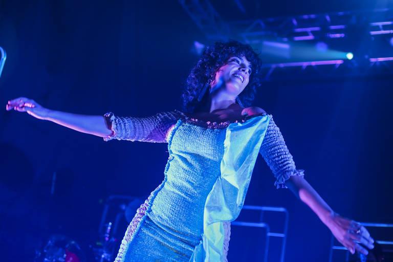 Show da cantora Céu no festival Radioca 2019, na Chácara Baluarte, em Salvador