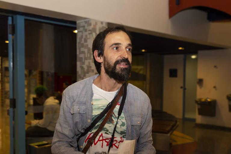 O ator Júlio Andrade
